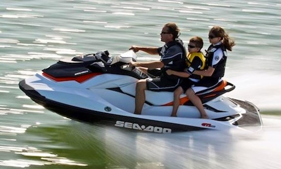 Rent A 2011 Sea Doo Jet Ski On Lake Joseph, Ontario