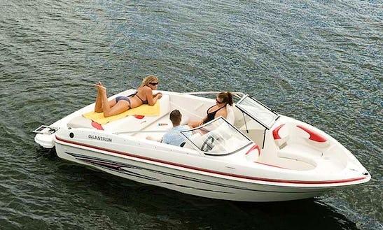 Rent A 18' Glastron Bowrider On Lake Joseph, Ontario