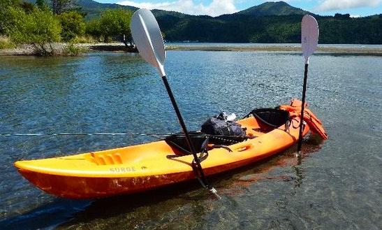 Tandem Kayak Rental On The Croton River