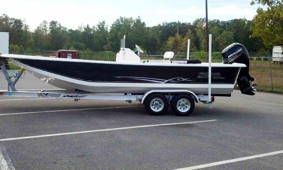 Fishing Skiff Charter in Hopewell, VA