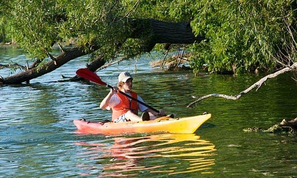 Kenai Peninsula Single Seat Kayak Rentals in Sterling, Alaska