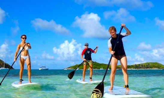 Stand-up Paddleboard Rental In St. Thomas, Usvi