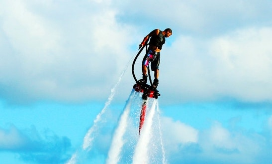 Fly 30 Feet High - Flyboarding In St. Thomas