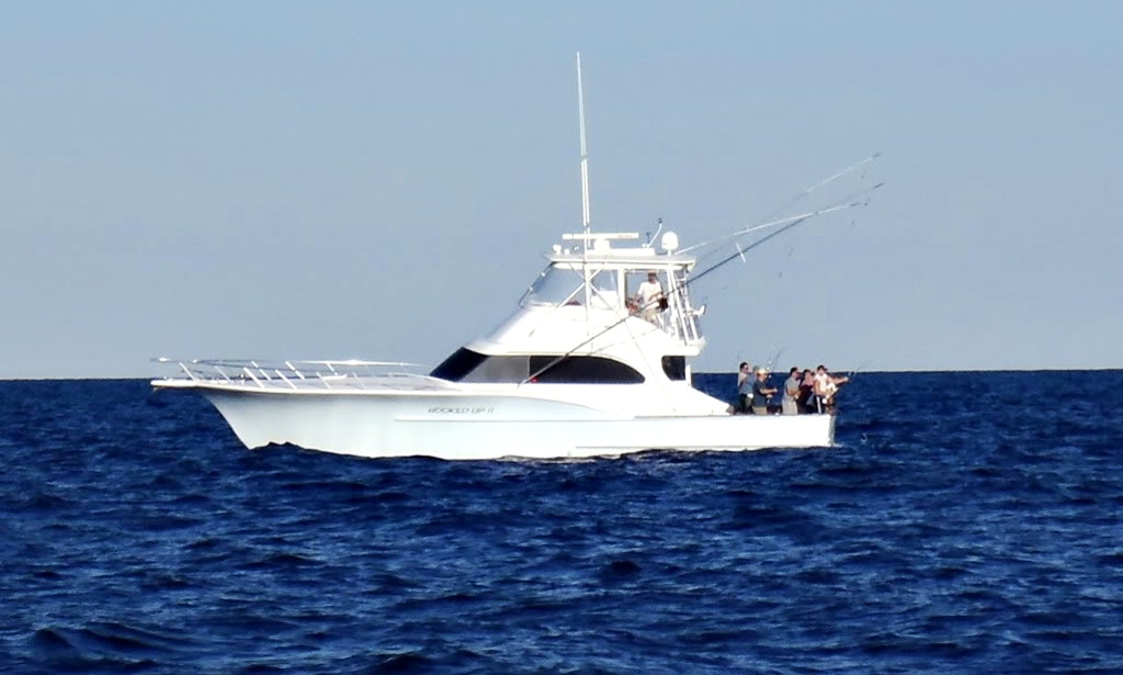 55ft the hooked up ii carolina sport fisherman boat for Cape may fishing charters
