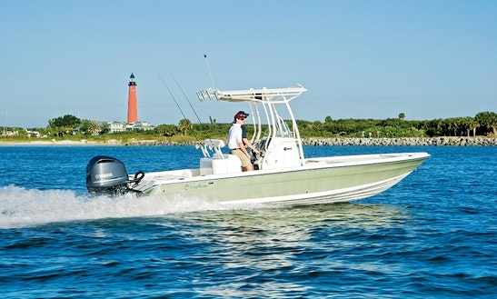 24' Mako Bay Fishing Charter In Carolina Beach, North Carolina