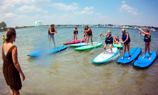 Stand-up Paddleboard Lessons In Barkhamsted, Ct