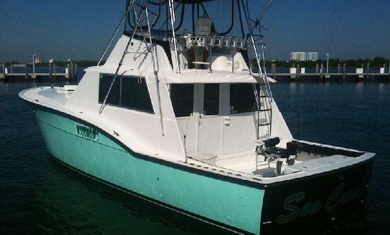 Miami Beach 45' Hatteras Sport Fisherman Charter