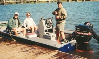 Guided Fishing Trips on 4 Person Bass Boat in Springfield with Captain John