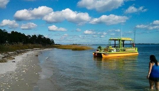 Pontoon Boat Rental In Little River, South Carolina