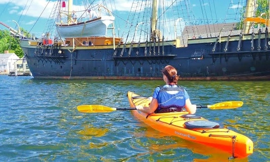 Mystic Coast Kayak Tours!