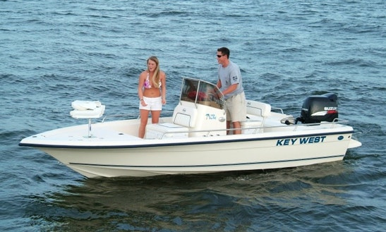 20' Bay Reef Fishing Charter In Kingsland, Ga