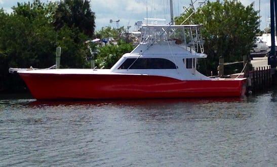 54ft Blackwel Sport Fisherman Boat Rental In Stuart, Florida