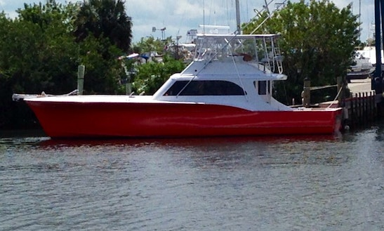 54ft Blackwel Sport Fisherman Boat Rental In Stuart, Florida