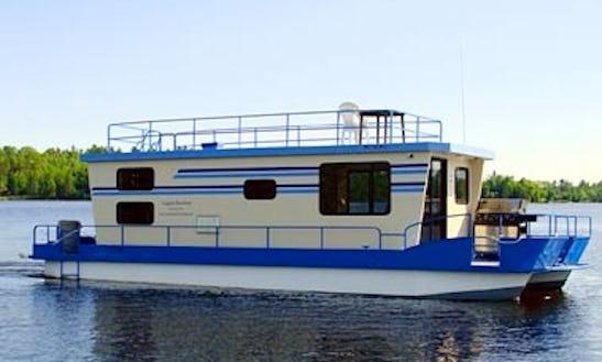 42' North Star Houseboat Rental In Crane Lake
