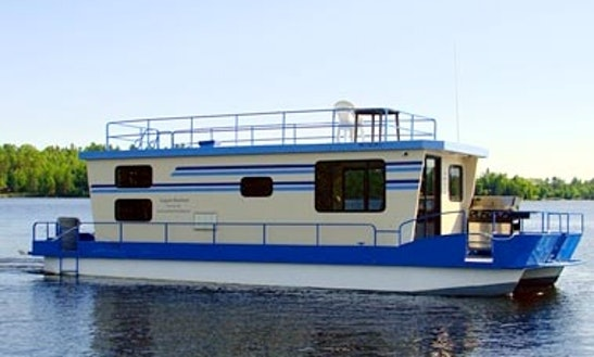 42' North Star Houseboat Rental In Crane Lake