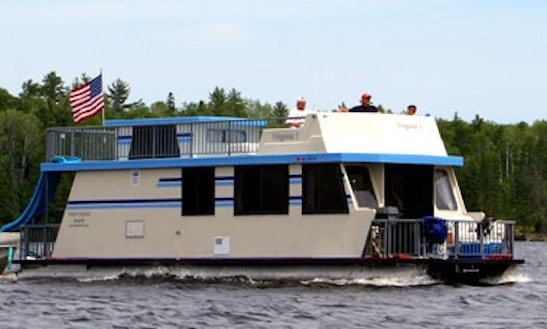 Sportcruiser 440 Houseboat Rental In Crane Lake