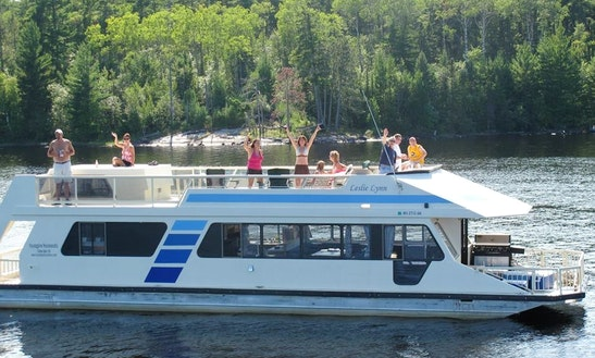 Sunseeker 530 Houseboat Rental In Crane Lake