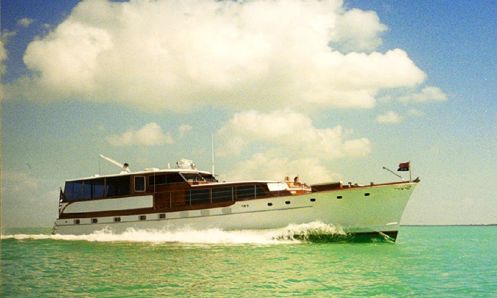 Charter 68ft Trumpy Motor Yacht in Key Largo, Florida