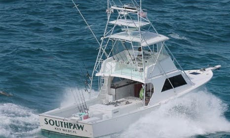 "Fishing Charter on 43ft ""Southpaw"" Yacht in Key West, Florida"