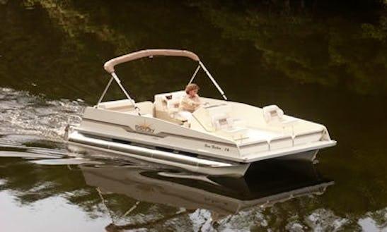 Rent A 18' Pontoon For 8 People In Lake Okeechobee, Florida