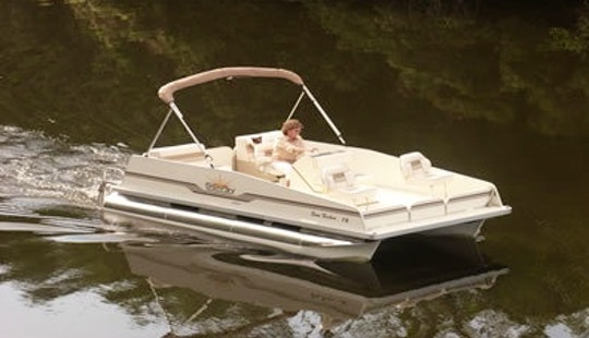 Rent A 18' Pontoon For 8 People In Lake Okeechobee, Florida