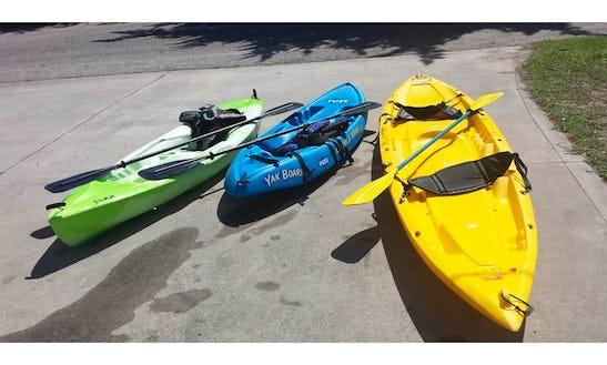 Rent A Tandem Kayak In North Myrtle Beach, South Carolina