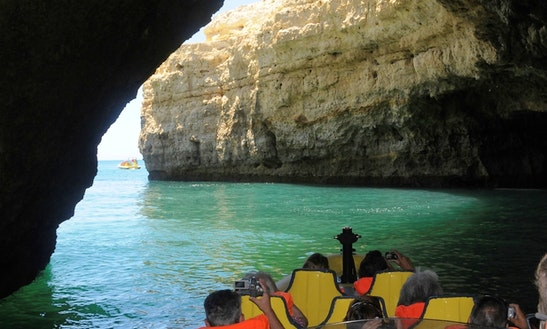 Amazing 12 People Insónia Passenger Boat Rental In Albufeira, Faro
