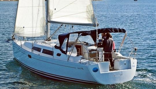Hanse 350 Charter In Croatia