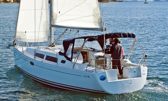 Hanse 350 Charter In Croatia