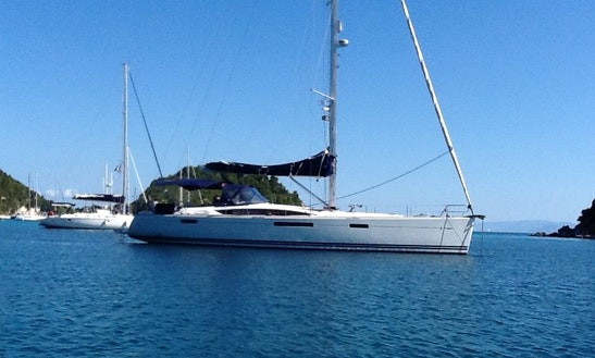 8 Person Cruising Monohull Rental In Corfu, Greece For An Amazing Experience