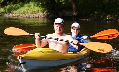 Tandem Kayak Rental in Frenchtown, NJ