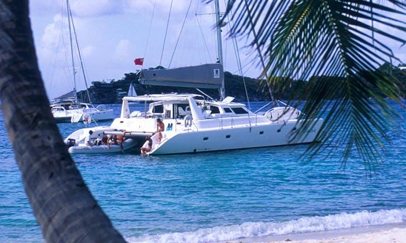 Cruising Catamaran Rental in Roadtown