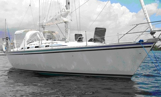 Charter A 40' Hunter Kent Island, Md - Includes Captain & Fuel
