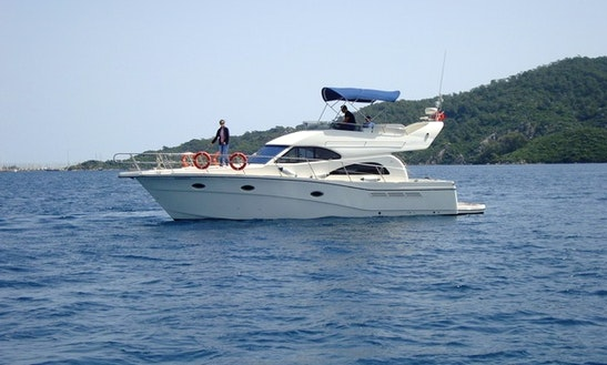 Day Charters In Antalya With A Rodman 41 Motor Yacht