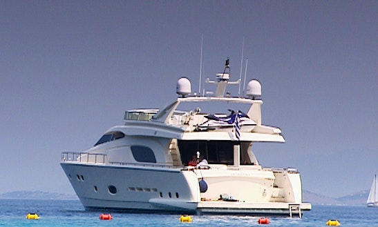 80 Ft Armonia Motor Yacht Charter In Athens