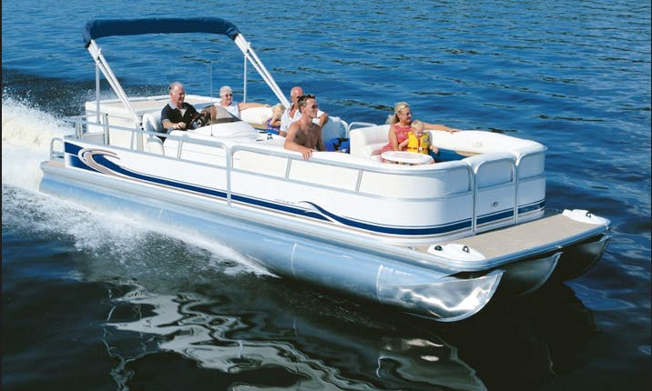 Pontoon Rental in Curtis, MI