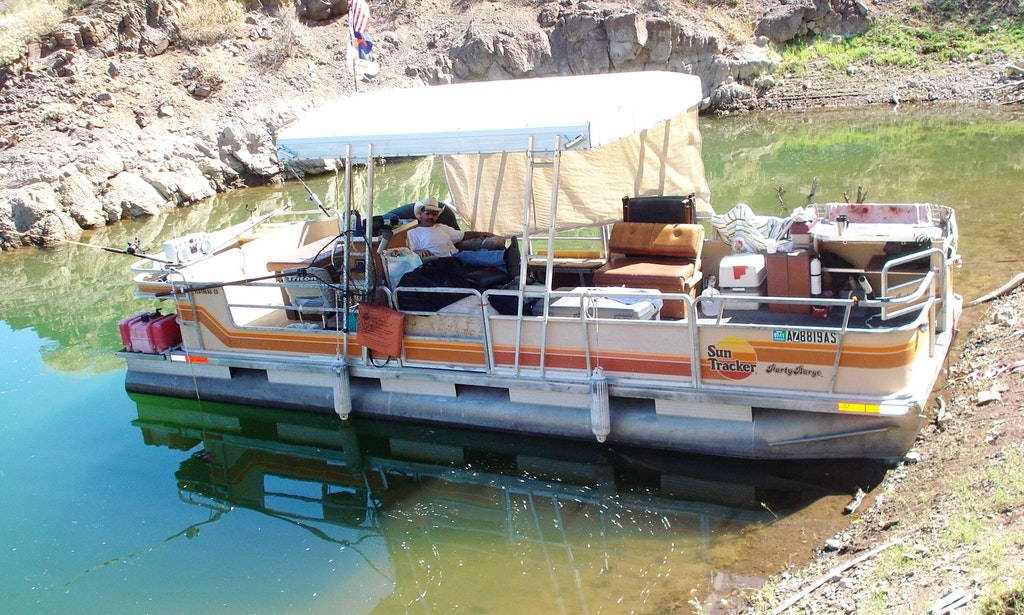 17 39 pontoon fishing boat in surprise arizona united for Arizona fishing guides