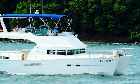 Sea Duction 44ft Catamaran Yacht Charter