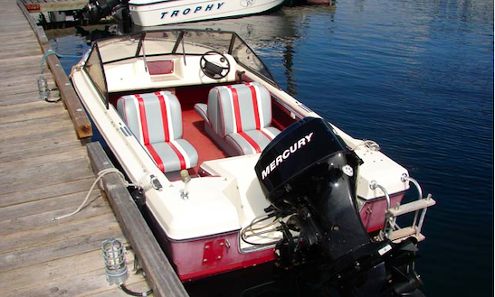 16' Motorboat For Rent In Madeira Park, Bc