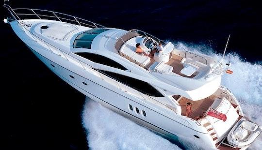 Power Mega Yacht Charter 65' In The Seychelles