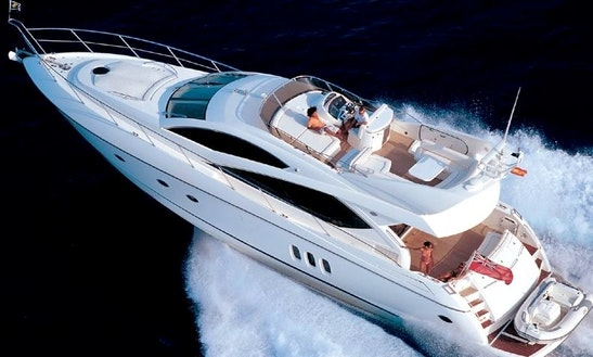 Motor Yacht Charter 65' In The Seychelles