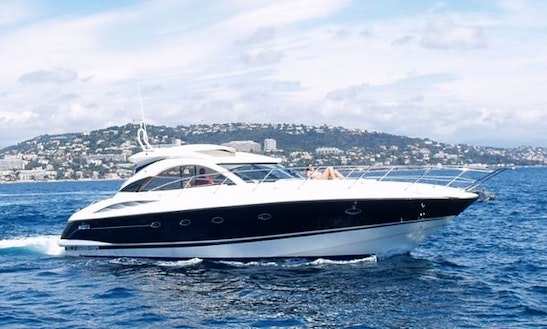 Charter The 52' Sunseeker Luxury Yacht In St Thomas, Us Virgin Islands