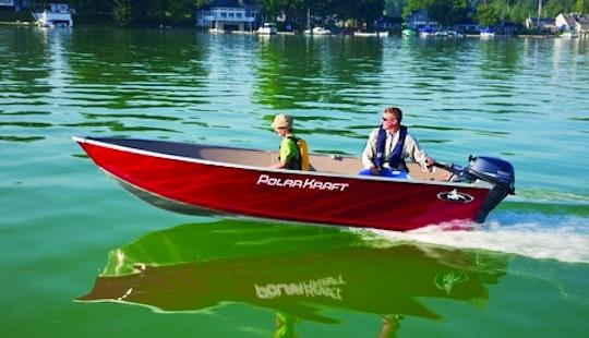 Polar Kraft Dakota V1470 Jon Boat Rental In Portland, Ontario