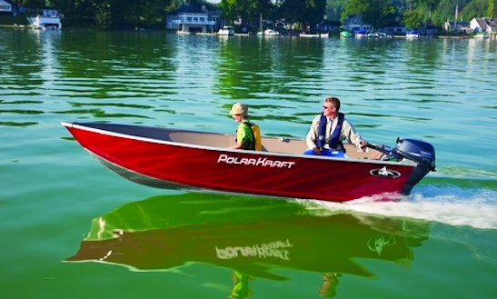 Polar Kraft Dakota V1470 Jon Boat Rental In Portland, Ontario