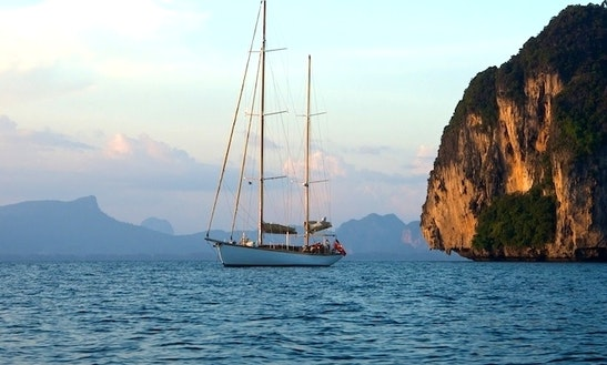 2011 95' Classic Ketch Charter In Kawthoung