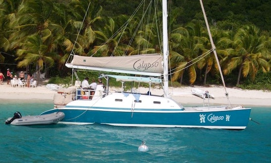 32 Person Catamaran Sailing Charter In St John
