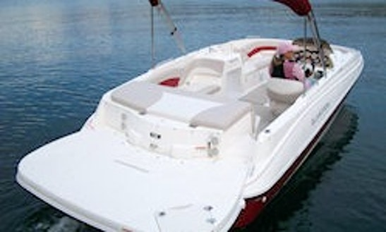 Duo Prop Glastron Deck Boat (ii)