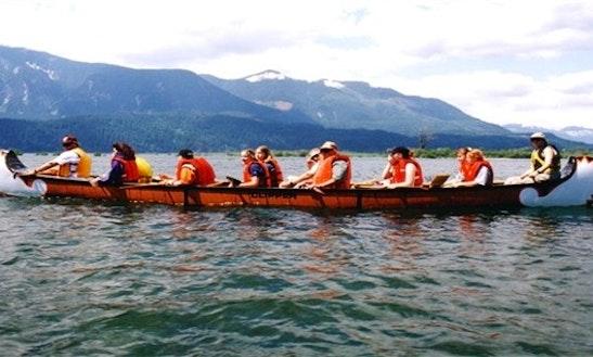 Voyageur Canoe Rental In Whitehorse, Yukon