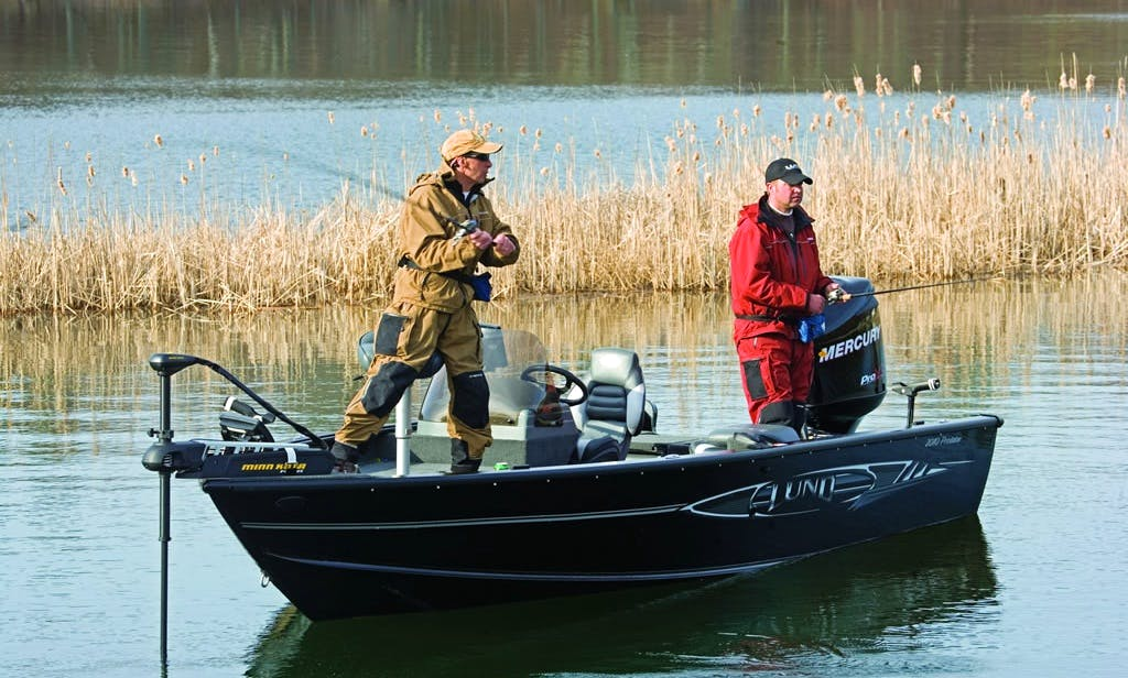 Fishing Guide Service with Lund 2010 Predator in Matlacha