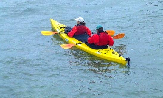 Double Kayak Rental In Waldport, Or